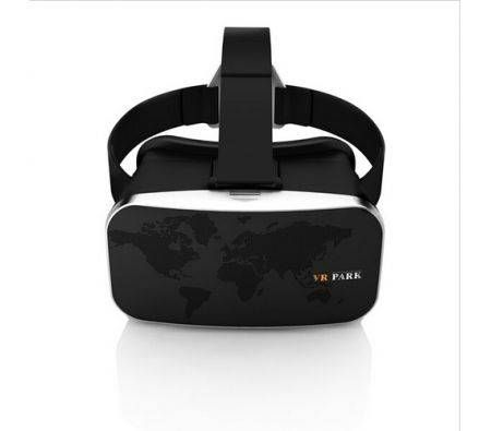 VR PARK V3 3D Glasses Helmet Oculus Rift Cardboard for Vitual Reality Headset Black