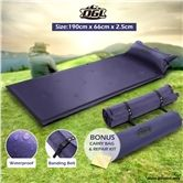 Self-Inflating Air Mattress 190cmx66cmx2.5cm