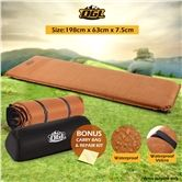 Self-Inflating Air Mattress 198cmx63cmx7.5cm