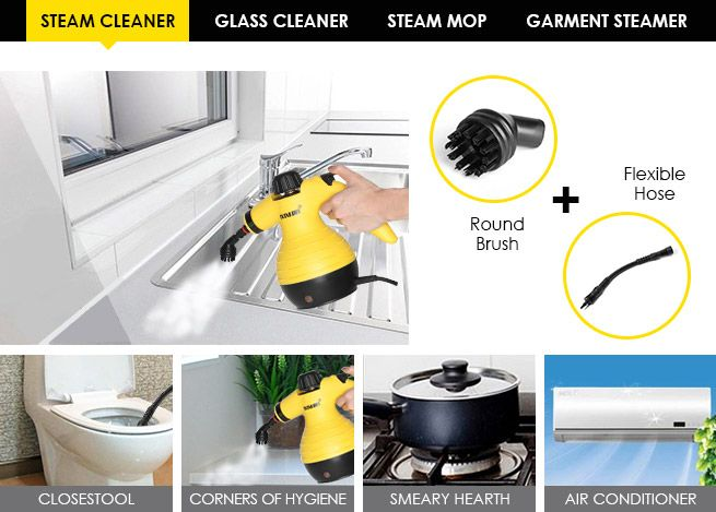 Best Steam Cleaner For Bathrooms And Kitchens