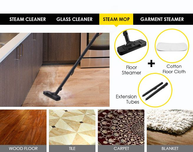 how to make a steam cleaner