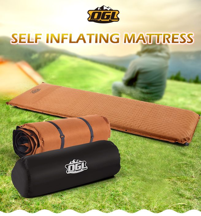 NEW 7 5cm Thick Self Inflating Outdoor Camping Air