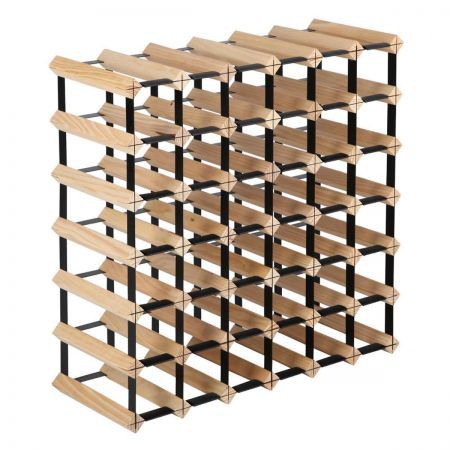 Timber Wine Rack - 42 Bottles