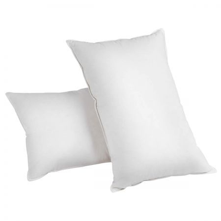 Set of 2 Duck Feather and Down Pillows