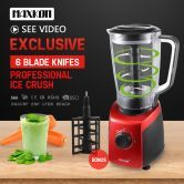 Maxkon Commercial Blender - Mixer Juicer Food Processor Smoothie Maker