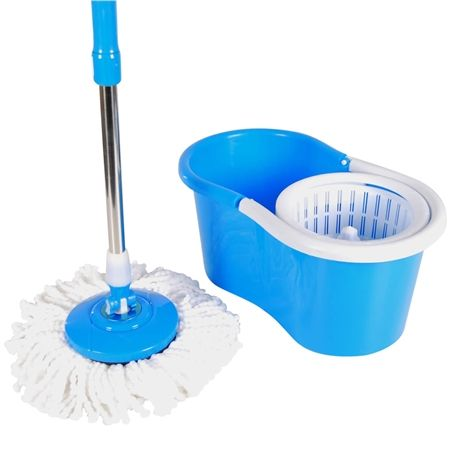 360 Rotating Magic Spin Mop with 2 Mop Heads