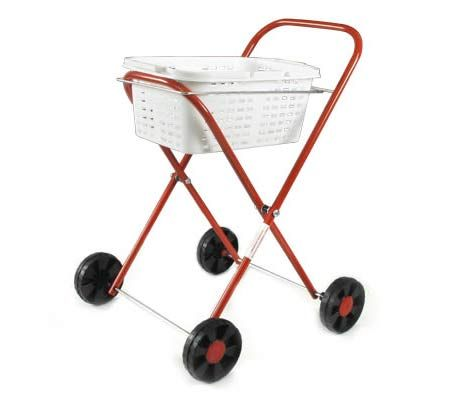 Orbit Peg N' Play Trolley with Laundry Basket - Role Play Toy