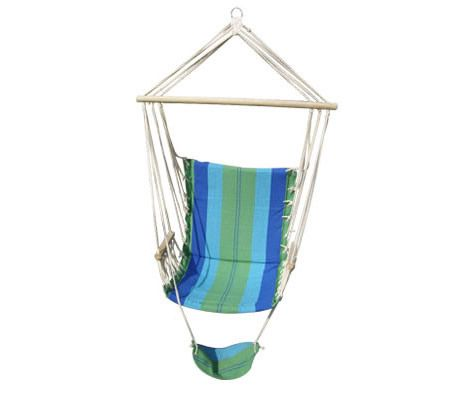 Swinging Hanging Hammock Chair with Footrest   Crazy Sales