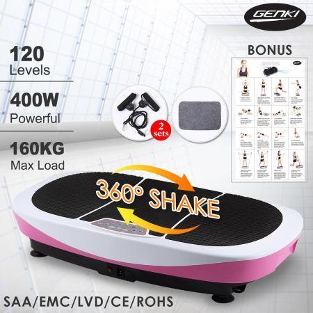 400W Genki 3rd Vibration Machine - Whole Body Shaker Platform