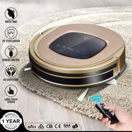MAXKON 8-in-1 Smart Robot Vacuum Cleaner