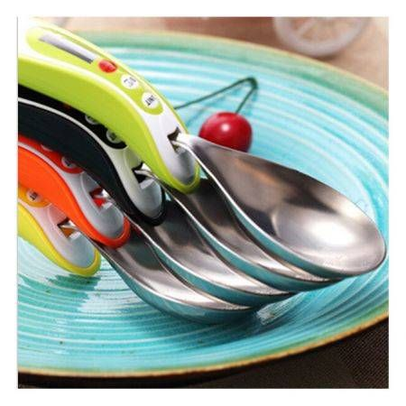 Detachable Digital Electronic Measure Spoons With Scale Cooking Tools