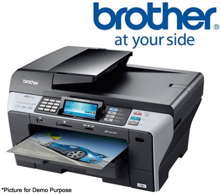 Brother MFC-6890CDW Professional A3 Colour Inkjet Duplex Multi-Function Printer with Touchscreen LCD and Wired / Wireless Network
