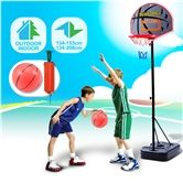 Junior Kids Basketball Play Set - Adjustable  Heights