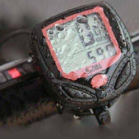 Waterproof Bicycle Cycle LCD Display Digital Computer Speedometer Odometer