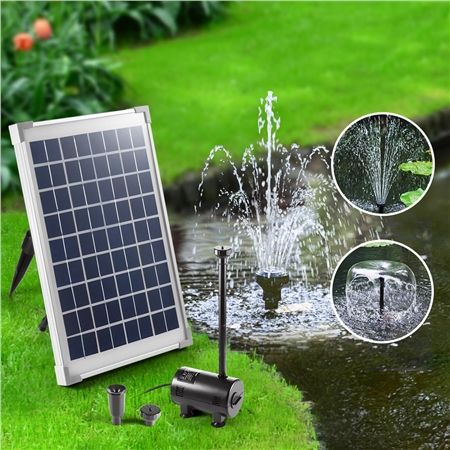 10w Solar Power Outdoor Garden Water Pump