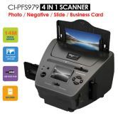 4-in-1 Combo Photo Film Scanner 14MP