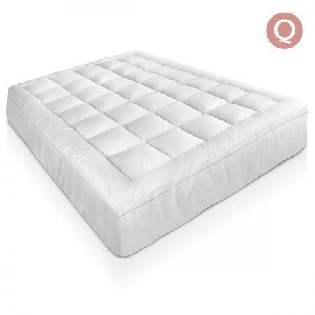 wholesale dealer c36e2 5f409 Bamboo Pillowtop Mattress Topper 5cm - Queen