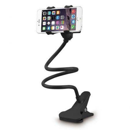 360 Rotating Flexible Cell Phone Holder Car Selfie Mount