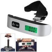 Portable Hanging Electronic Digital Travel Suitcase Luggage Weighing Scales 50Kg