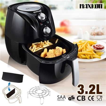 New 3.2L Air Fryer Kitchen Healthy Rapid  Low Fat Oil Free Cooker