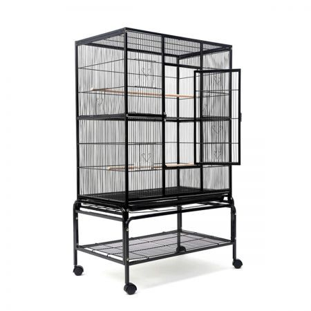 Bird Cage Parrot Aviary Pet Stand-alone Budgie Perch 140cm