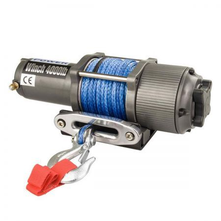 Gravity Auto Sales >> 12v 4000lbs /1814kg Electric Winch Synthetic Rope Wireless | Crazy Sales