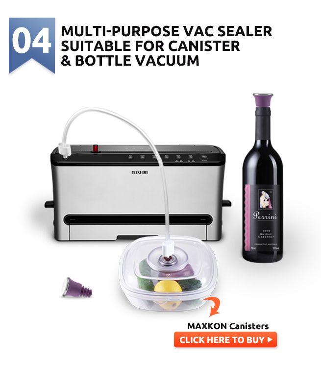 Maxkon Vacuum Food Saver Reviews