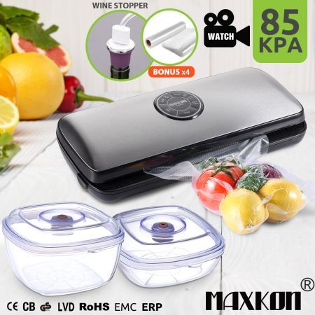 Maxkon Vacuum Food Saver Reviews