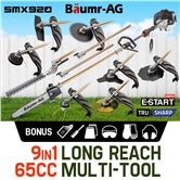 Baumr-AG 65cc Pole Chainsaw Hedge Trimmer Pruner Chain Saw SMX920