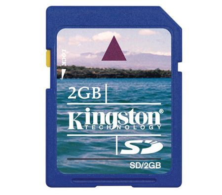 FREE SHIPPING Kingston Secure Digital Card 2GB SD 2G Card
