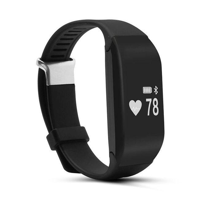 H3 Smart Heart Rate Monitor Bracelet Watch Pedometer