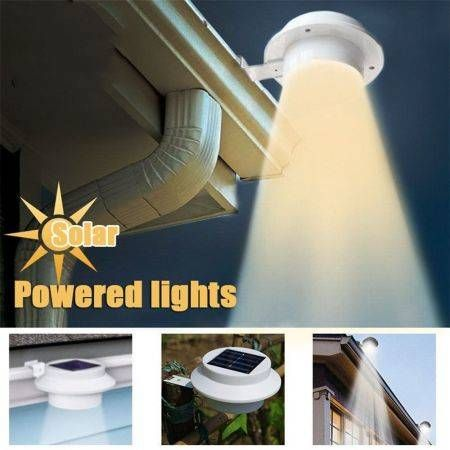 LUD Generic LED Solar powered Energy Saving Outdoor All-Weather Light