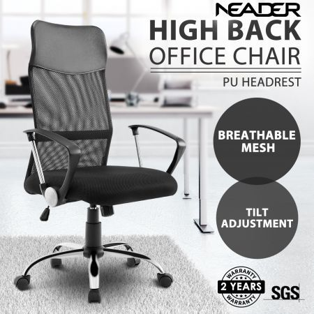 New Executive Mesh Office Chair High Back Computer Work Chair