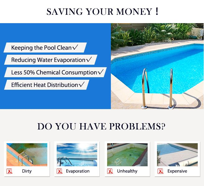 400 Micron Solar Swimming Pool Cover Size 11m X 4 8m For Outdoor Protection Crazy Sales