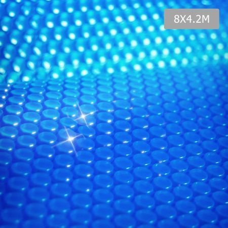 Solar Swimming Pool Cover Bubble Blanket 8m X Crazy Sales