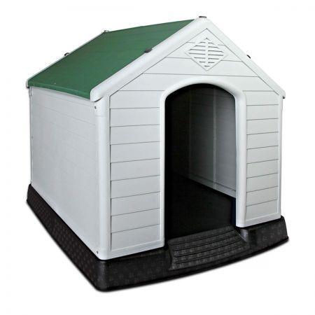 Plastic Green Dog Kennel 99cm Crazy Sales