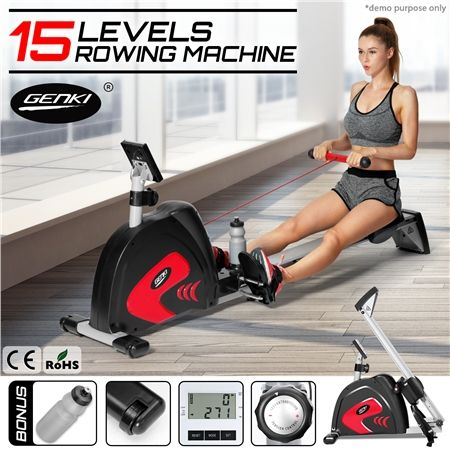 Genki Magnetic Exercise Rowing Machine