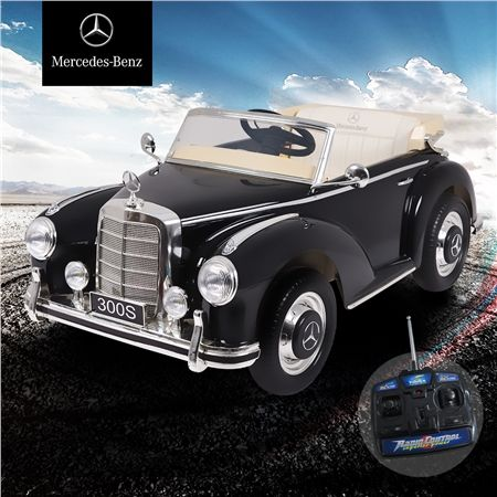Kids licensed mercedes benz convertible 300s electric ride for Mercedes benz ride on car