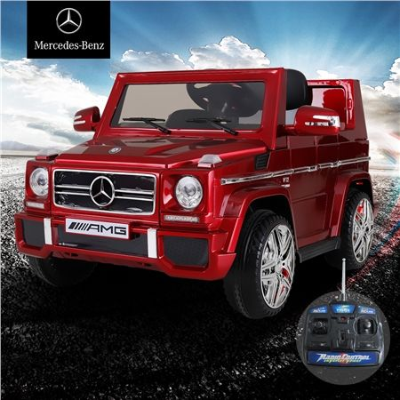 kids licensed mercedes benz g65 amg electric ride on suv. Black Bedroom Furniture Sets. Home Design Ideas