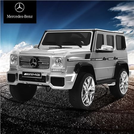Kids Licensed Mercedes-Benz G65 AMG Ride On Car-Silver