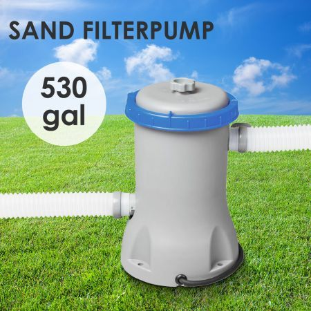 Bestway 530gal Pool Sand Filter Pump