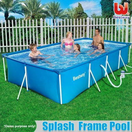 Bestway Deluxe w/ Filter Splash Frame Pool