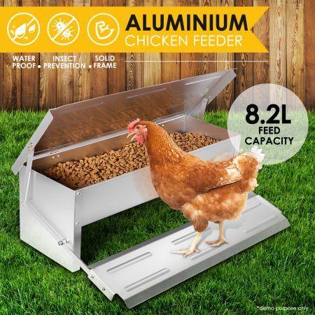 pvc miser feeder aqua avian even food posts better chicken