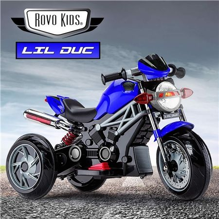 Rovo Kids Electric Ride On Motorbike Crazy Sales