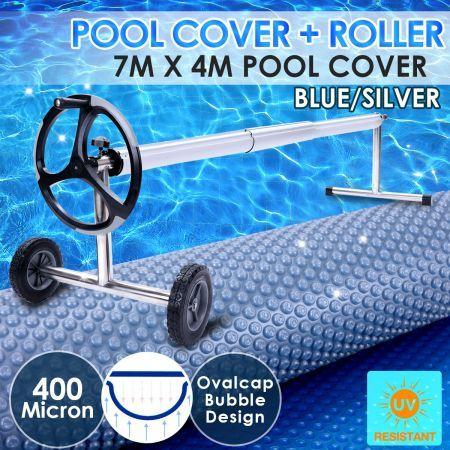 400 Micron Solar Swimming Pool Cover Blanket 7m X 4m