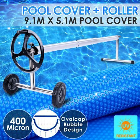 400 Micron Solar Swimming Pool Cover Blanket 9m X 5m