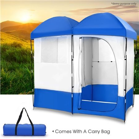 XL Portable Double Outdoor Change Room Tent & XL Portable Double Outdoor Change Room Tent | Crazy Sales