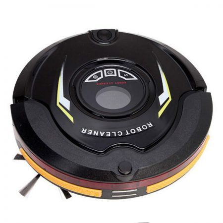 5 in 1 AC Robot Vacuum Cleaner 100-240V - Black