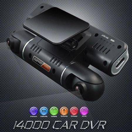 Hd 360 Degree 1080p Dual Lens Car Dvr Night Vision G