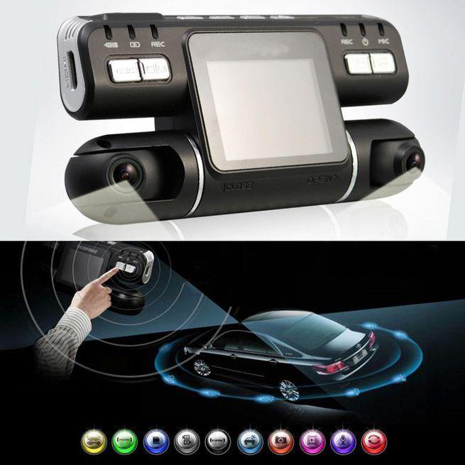hd 360 degree 1080p dual lens car dvr night vision g sensor camera recorder dash cam crazy sales. Black Bedroom Furniture Sets. Home Design Ideas